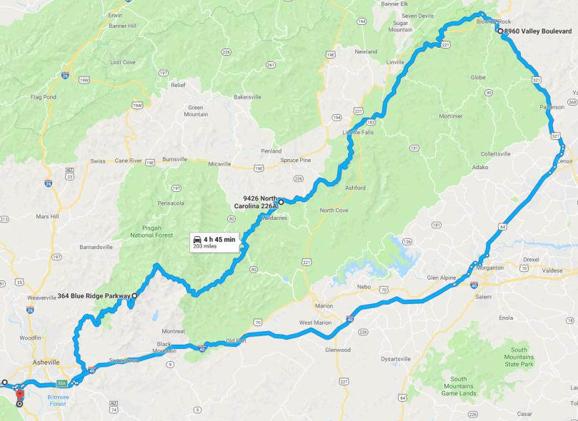 Asheville-MtMitchell