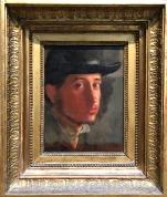 Paul Degas - auto-portrait (courtesy: Getty Museum)