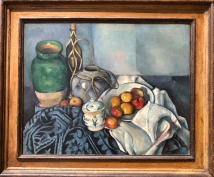 Paul Cezanne - Still life with apples (courtesy: Getty Museum)