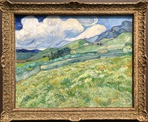 Vincent van Gogh - Landscape from Saint-Rémy (courtesy: Getty Museum)