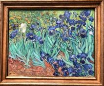 Vincent van Gogh - Irises (courtesy: Getty Museum)