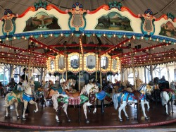 Carousel at Santa Monica Pier