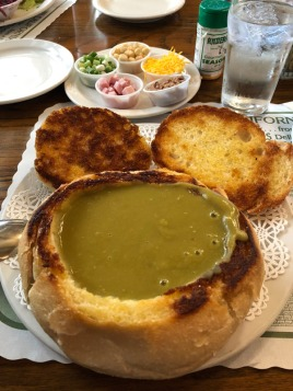 Famous pea soup in Andersen's